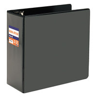 Samsill 16400 Nonstick Black View Binder with 5 inch D Rings