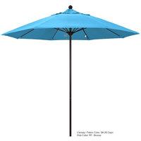 California Umbrella ALTO 758 PACIFICA Venture 7 1/2' Round Push Lift Umbrella with 1 1/2 inch Aluminum Pole - Pacifica Canopy
