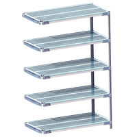 Metro 5AX337GX3 MetroMax i Polymer Add-On Shelving Kit - 18 inch x 36 inch