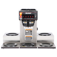 Bunn 13250.0023 CRTF5-35 12 Cup Automatic Coffee Brewer with 5 Warmers and Hot Water Faucet - 120/208-240V