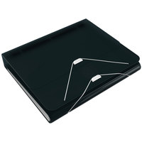Samsill 10125 DUO Black 2-in-1 Binder Organizer with 1 inch Round Rings