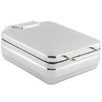 Bon Chef 20308NG 4 Qt. Stainless Steel Hinged Top Half Size Induction Chafer