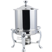 Bon Chef 38001HLCH Lion Petite 8 Qt. Stainless Steel with Chrome Accents Hinged Top Marmite Chafer