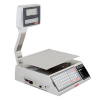 Tor Rey W-LABEL40L 40 lb. Wi-Fi Price Computing Scale with Thermal Label Printer, Legal For Trade