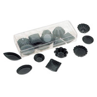 Matfer Bourgeat 332001 Non-Stick Petit Four Mold - 50/Set