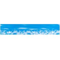 Avantco 17812904 Blue Refrigerator Sign Panel