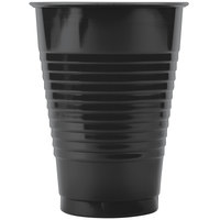 Creative Converting 28134071 12 oz. Black Velvet Plastic Cup - 20/Pack