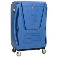 Metro TXPB-BLK48SEC MetroTrux Bulk Laundry Truck with Enclosures and Swivel / Rigid Casters