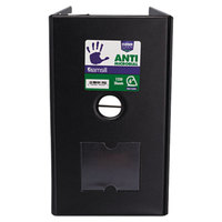 Samsill 16320 Clean Touch Black Antimicrobial Reference Binder with 6 inch D Rings
