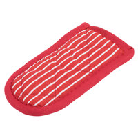 Lodge HHR Red and White Stripe Handle Holder