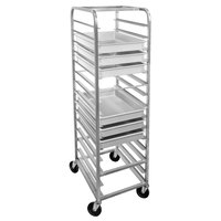 Channel RB-4 15 Slot Mobile Pizza Dough Box Rack