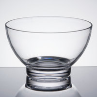 Vollrath V927000 4.25 Qt. Clear Large Round Acrylic Bowl