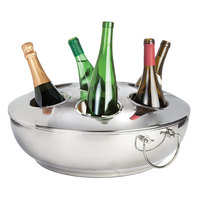 Franmara 8318 Celebration Seven-Bottle Double-Wall Wine Cooler with Lid