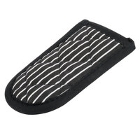Lodge HHB Black and White Stripe Handle Holder