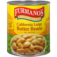 Furmano's #10 Can Butter Beans - 6/Case