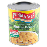 Furmano's Butter Beans 6 - #10 Cans / Case
