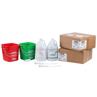 Noble Products 6 Qt. / 192 oz. Cleaning and Sanitizing Kit