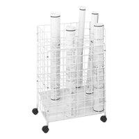 Safco 3088 24-Compartment Mobile Wire Roll File