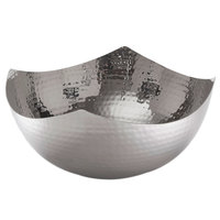 American Metalcraft SBH7 11 inch Hammered Stainless Steel Serving Bowl