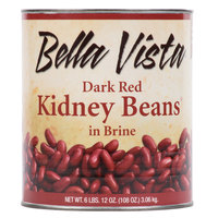 Bella Vista #10 Can Dark Red Kidney Beans - 6/Case