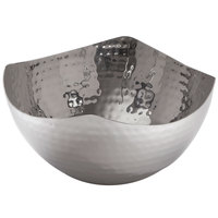 American Metalcraft SBH3 7 inch Hammered Stainless Steel Serving Bowl