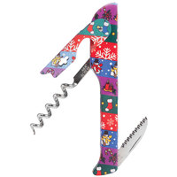 Franmara 2026 Hugger Designer Collection Waiter's Corkscrew with Wrapping Paper Decal