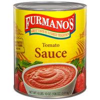 Furmano's #10 Can Tomato Sauce - 6/Case