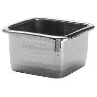 American Metalcraft HMBS 10 oz. Hammered Stainless Steel Square Pan