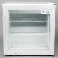 Avantco CFM2 White Countertop Display Freezer with Swing Door
