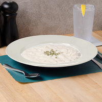 Thunder Group CR5811V 16 oz. Ivory Melamine Pasta Bowl - 12/Case