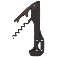Franmara 2037 Boomerang Waiter's Corkscrew with Soft-Touch Black Handle