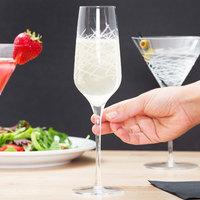 Master's Reserve 9332/69477 Renewal 8.5 oz. Crosshatch Champagne Flute   - 12/Case