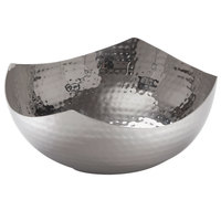 American Metalcraft SBH5 9 inch Hammered Stainless Steel Serving Bowl