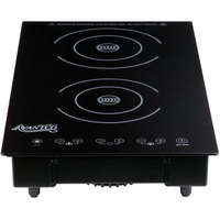 Avantco D18DB Drop-In Double Induction Range / Cooker - 208/240V, 3100W