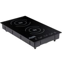 Avantco ID18DB Drop-In Double Induction Range / Cooker - 208-240V, 3100W