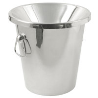 Franmara 9286SET Stainless Steel Wine Tasting Spittoon with Lid