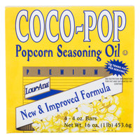 LouAna 1 lb. Coco Pop Bars - 30/Case