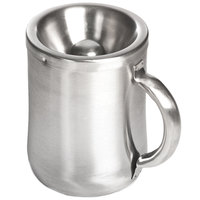 Franmara 9278 Customizable 26 oz. Brushed Stainless Steel New World Style Wine Tasting Personal Spittoon
