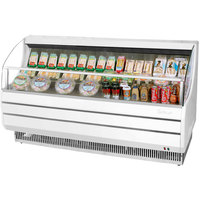 Turbo Air TOM-75S Slim Line 75 inch White Horizontal Air Curtain Display Case