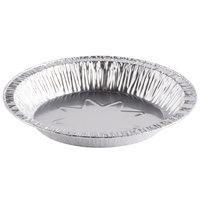 D&W Fine Pack B41 8 inch Foil Pie Plate 1 1/16 inch Deep - 1000 / Case