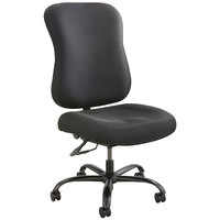 Safco 3590BL Optimus High Back Adjustable Black Big & Tall Chair