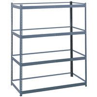 Safco 5260 Gray Commercial Steel Archival Shelving Frame - 69 inch x 33 inch x 84 inch