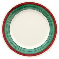 GET WP-7-PO Diamond Portofino 7 1/2 inch Wide Rim Plate - 48/Case
