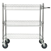 Regency 18 inch x 36 inch Shelving Cart with 2 Baskets