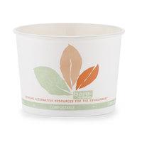 Dart Solo V508PL-JF522 Bare 8 oz. PLA Compostable Paper Soup / Hot Food / Cup - 1000 / Case
