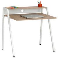 Safco 1951WH White/Beech Writing Desk