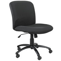 Safco 3491BL Uber Black Big & Tall Chair