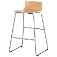 Safco 4299BH Bosk Beech Stacking Stool