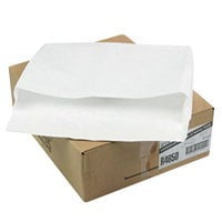 Survivor R4650 Tyvek® #110 12 inch x 16 inch x 2 inch White Business Envelope with Flap-Stick Self Adhesive Seal - 100/Case