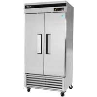 Turbo Air TSF-35SD 40 inch Super Deluxe Two Section Solid Door Reach in Freezer - 35 cu. ft.